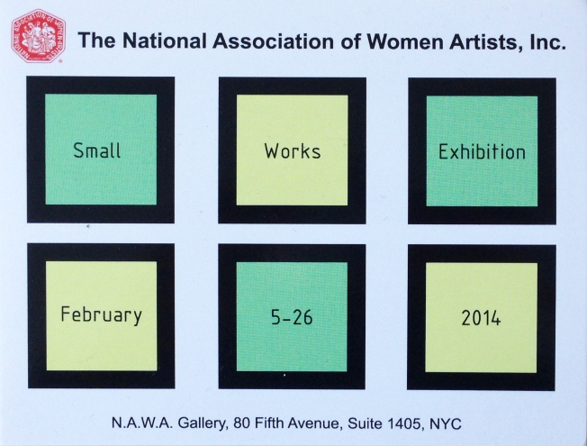 NAWA show postcard