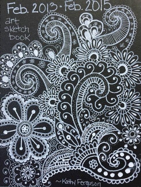 2nd doodled journal
