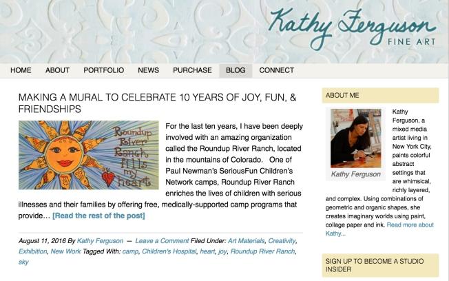 New blog snapshot